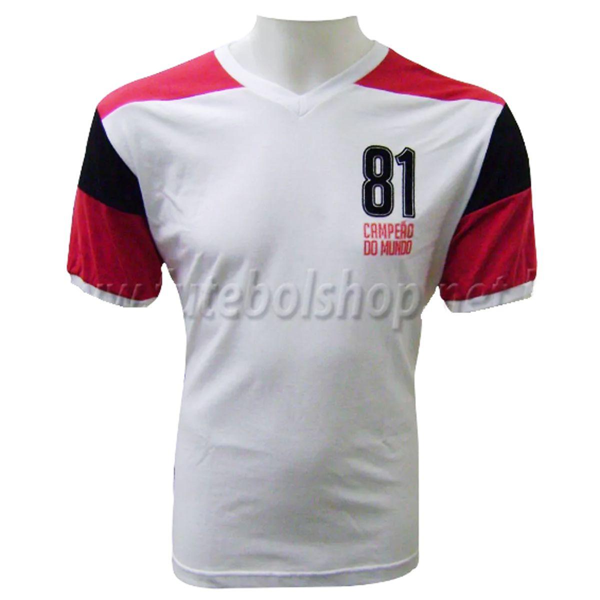Camisa Flamengo Retro Mundial 1981  Liga Retro - LRMUN81