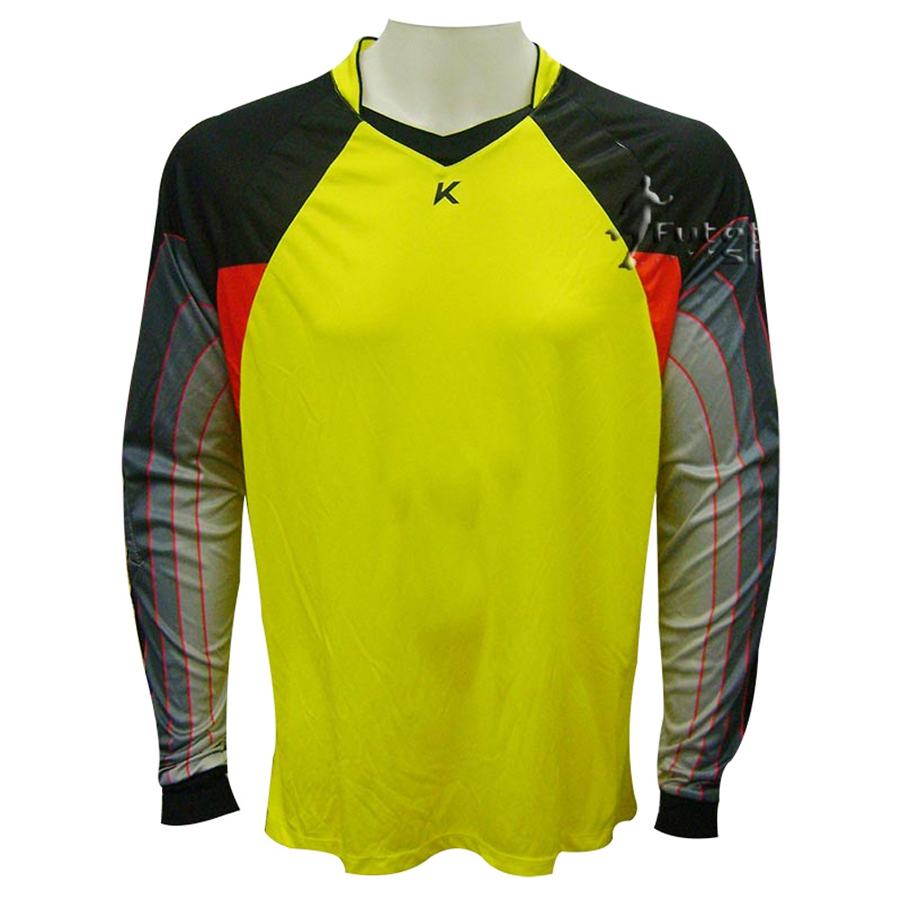 Camisa Goleiro Kanxa Monza Amarela - 4057