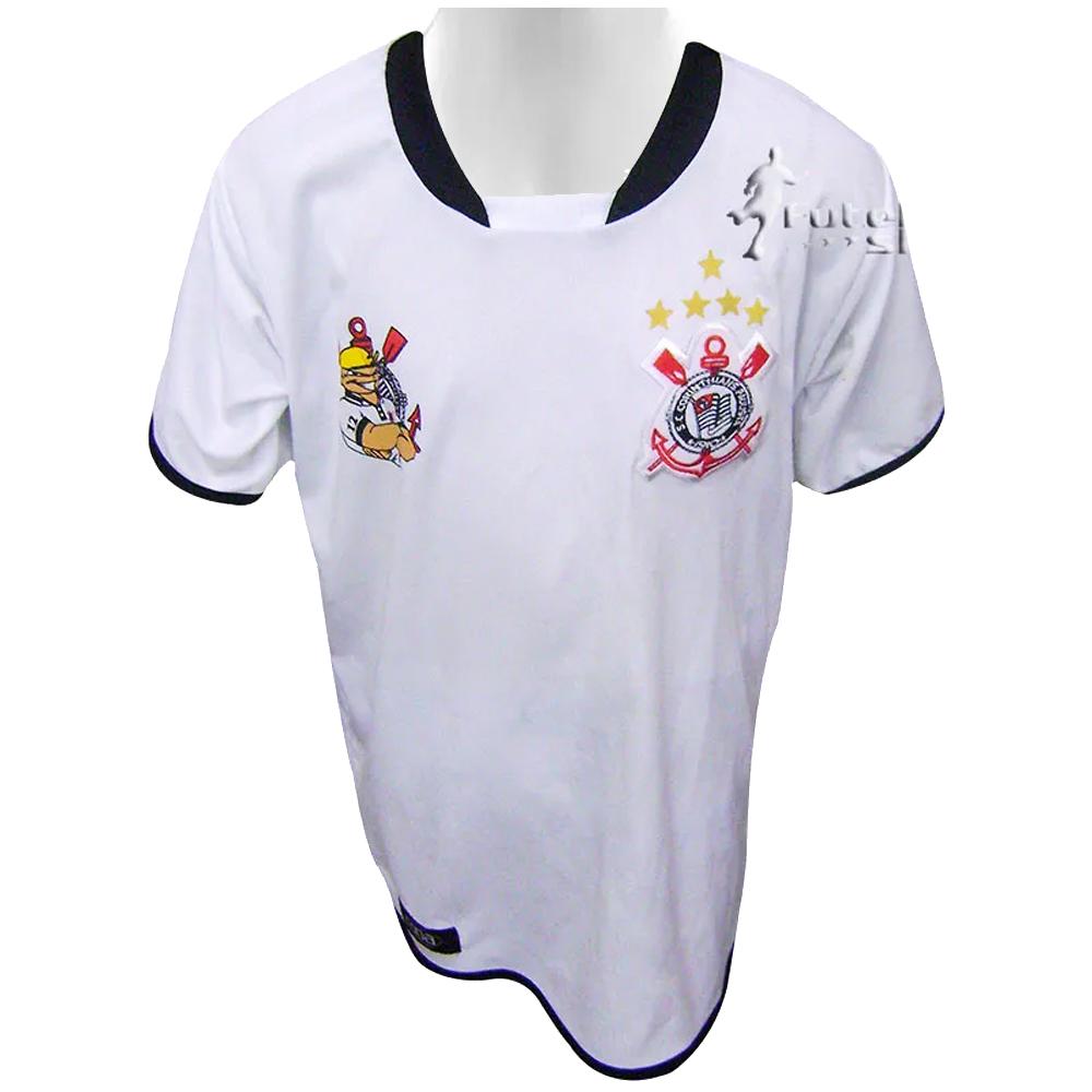 Camisa Infantil da Torcida Camisa 12 Branco - 230/B
