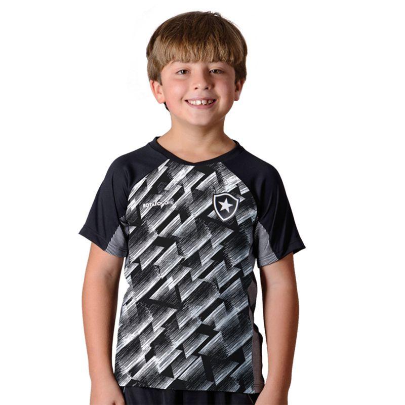 Camisa Infantil do Botafogo Upper - FUTEBOL SHOP ... ca953cc07397b