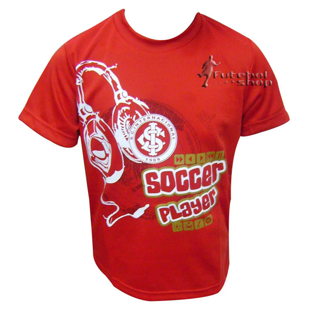 Camisa Infantil do Internacional Braziline - Fone