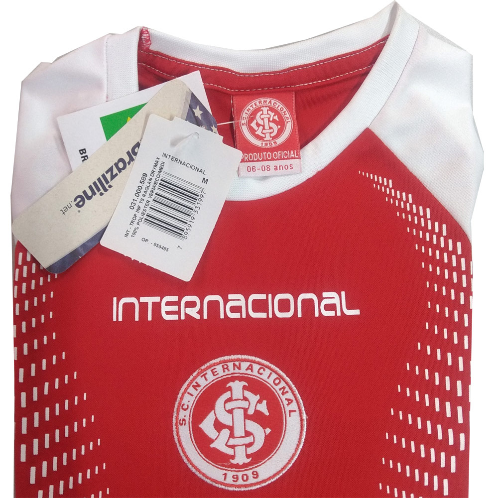 Camisa Infantil do Internacional Braziline Trop