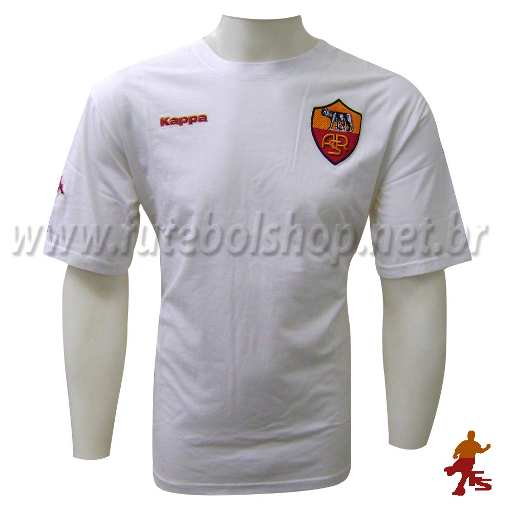 new arrival d2575 be74f Camisa Kappa Tifosi do AS Roma