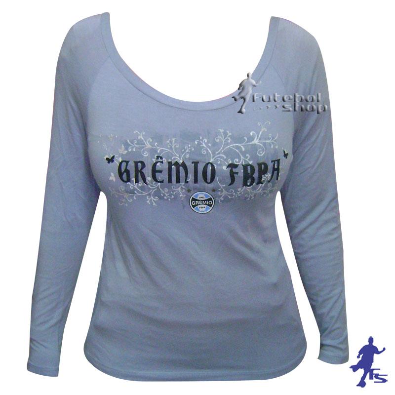 Camisa Manga Longa do Grêmio Feminina - Veet