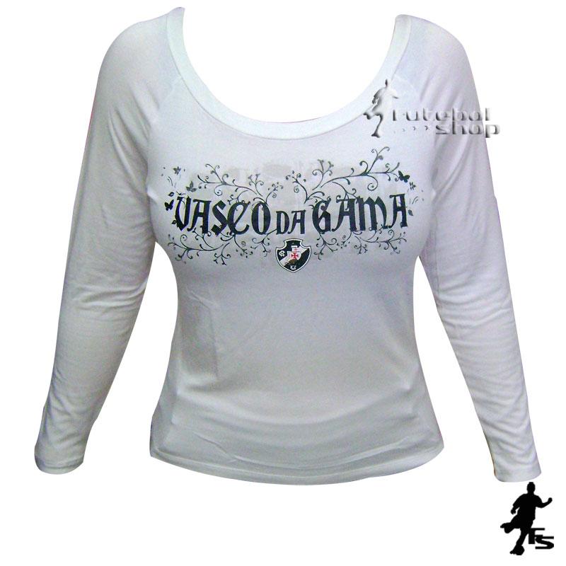 Camisa Manga Longa do Vasco da Gama Feminina - Veet