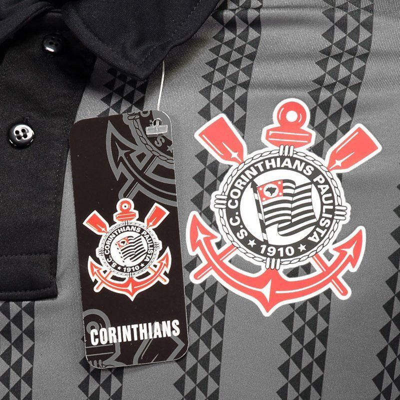 Camisa Polo do Corinthians Dark Side CO0118003