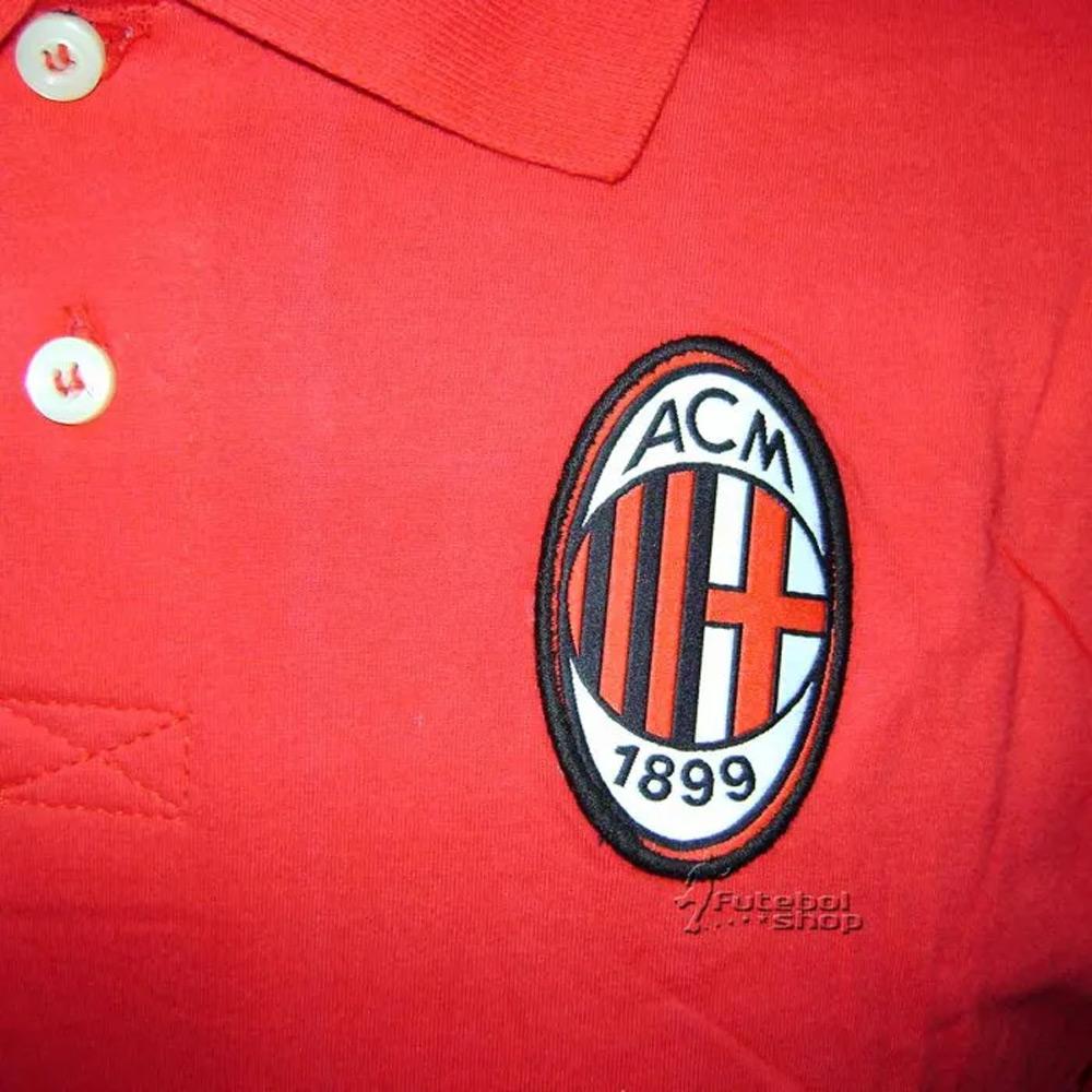 Camisa Polo do Milan Flag - 2410324
