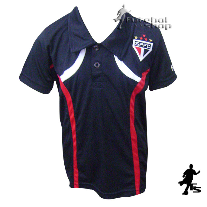 Camisa Polo do São Paulo FC Dry Infantil - 16067B