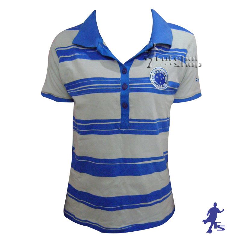 Camisa Polo Feminina Cruzeiro - CR99012V