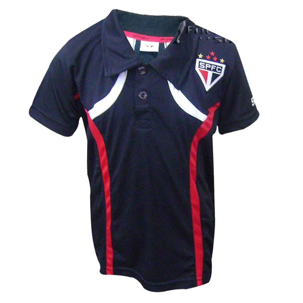 Camisa Polo Infantil do São Paulo FC Dry 16067B