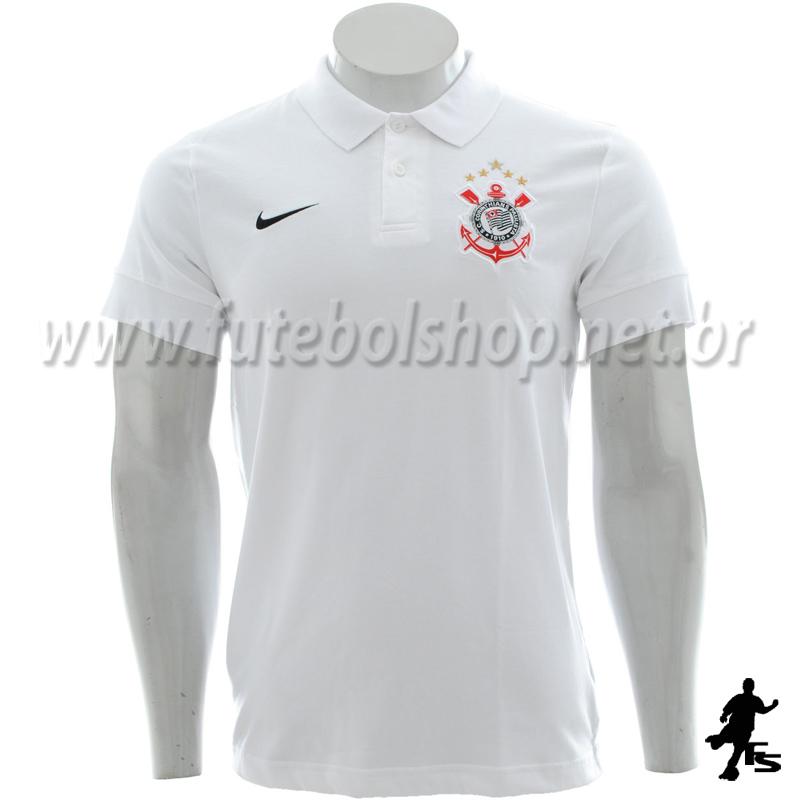 Camisa Polo Nike do Corinthians - 381771
