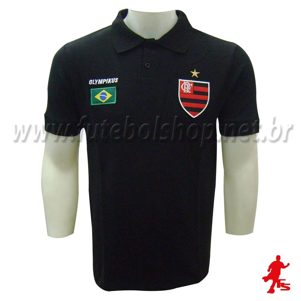 ef23e658c5 Camisa Pólo Olympikus Flamengo - 09060V - FUTEBOL SHOP ...
