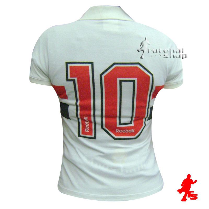 ... Camisa Reebok Retrô 1991 do SPFC Feminina - SP96051V - FUTEBOL SHOP f783626fb916d