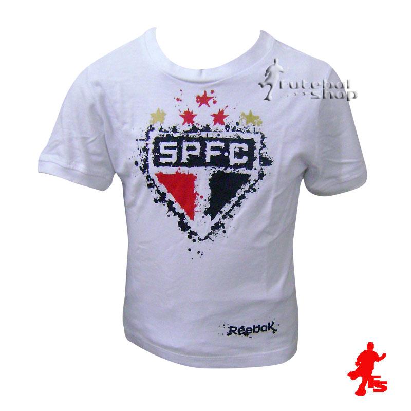 Camisa Reebok Sâo Paulo Grafiteiro Infantil - SP06030V