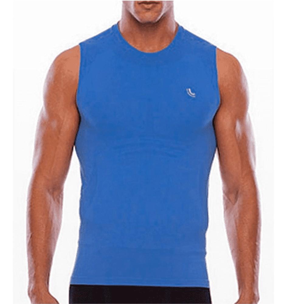 Camisa Regata Masculina Térmica Lupo I-Run - 70030 - Azul