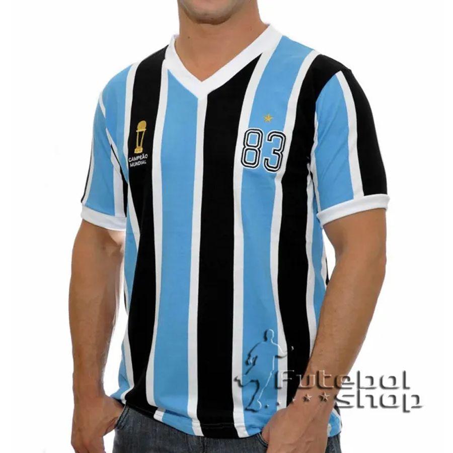Camisa Retro do Grêmio Tricolor RS 1983 - RM16