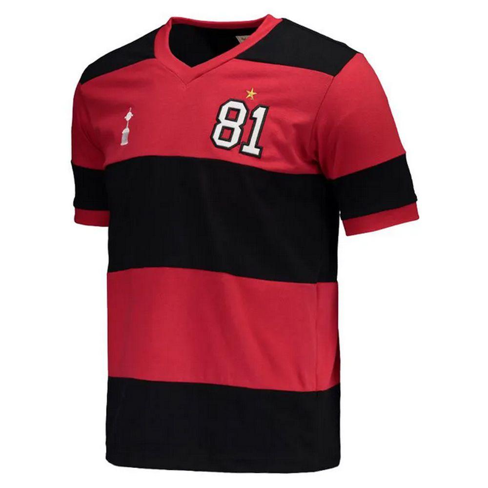 Camisa Retro Flamengo 1981 - RM06