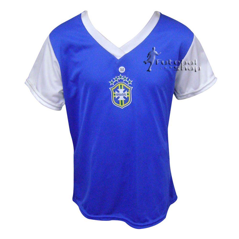 Camisa Rudder Feminina Brasil - RUBR3
