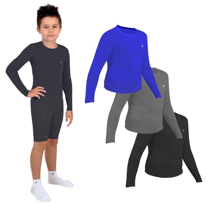 dc539e6a74 Camisa Térmica Infantil Poker Skin - 04706 - FUTEBOL SHOP ...