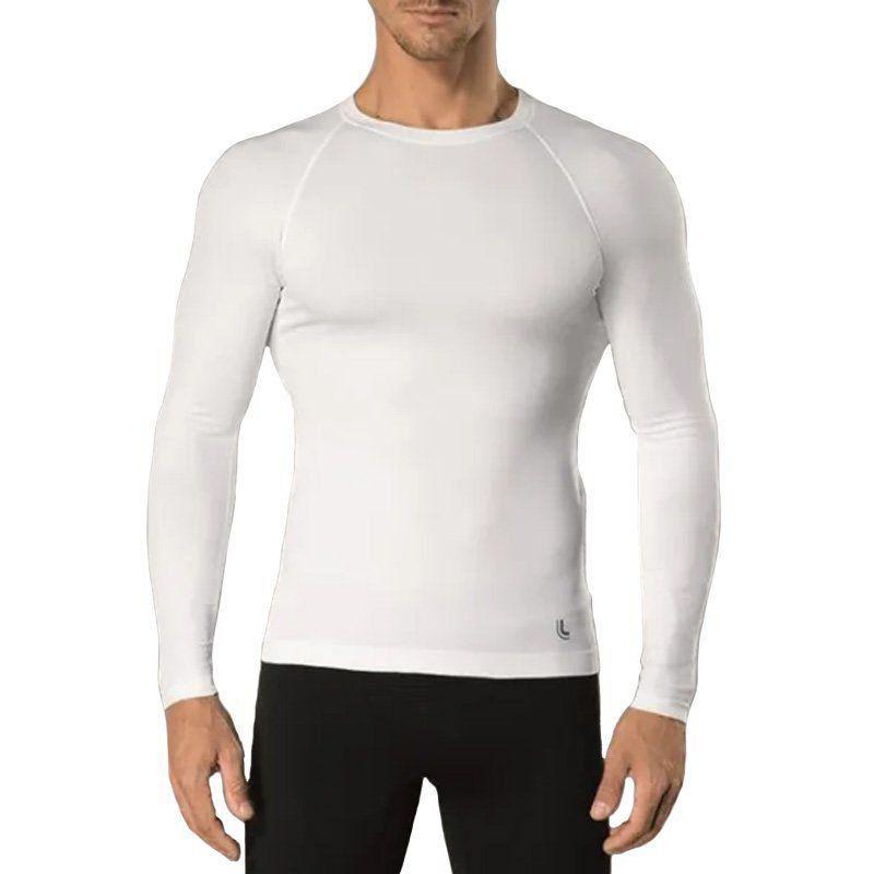 Camisa Térmica Manga Longa Lupo Run Branca 70045-001