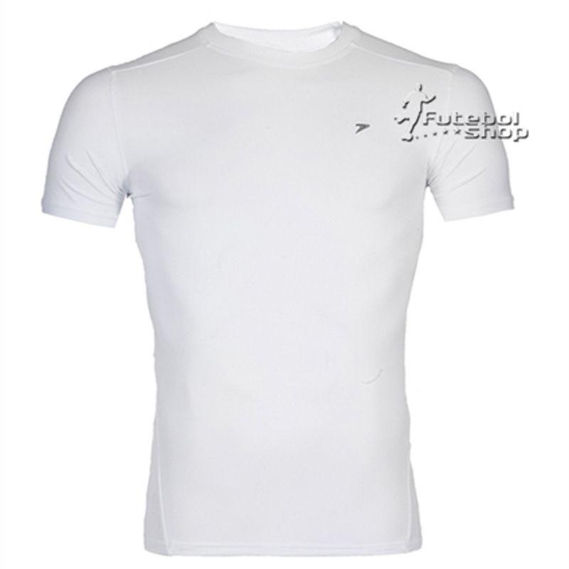 Camisa Térmica Poker Skin Atleta Manga Curta - 4316 - Branca