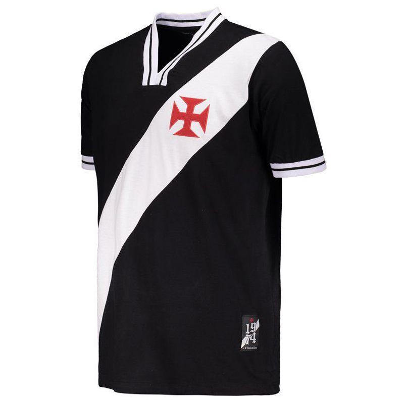 Camisa Vasco da Gama 1974 Retrô Braziline - 00200364416