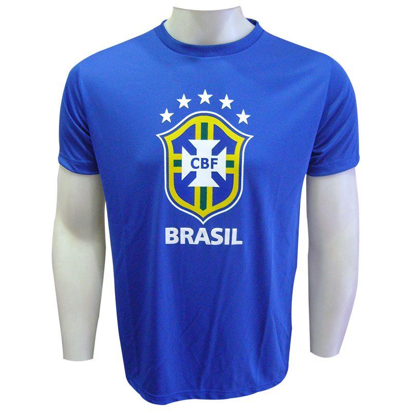 Camisa do Brasil Logo Azul - CB0210004