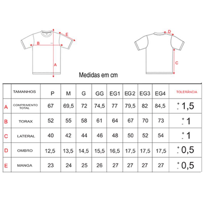 Camiseta Dryline Elite Summersun Preta 025392