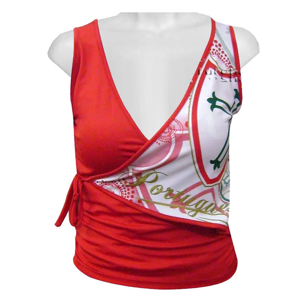 Camiseta Feminina da Portuguesa - Dupla 11