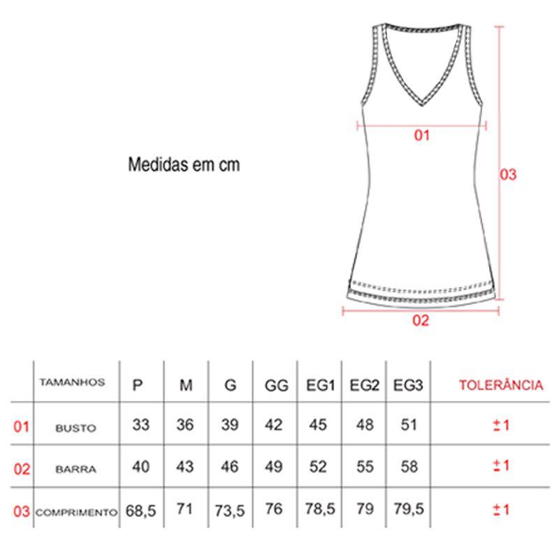 Camiseta Feminina Regata Fitness Preta Elite - 119602