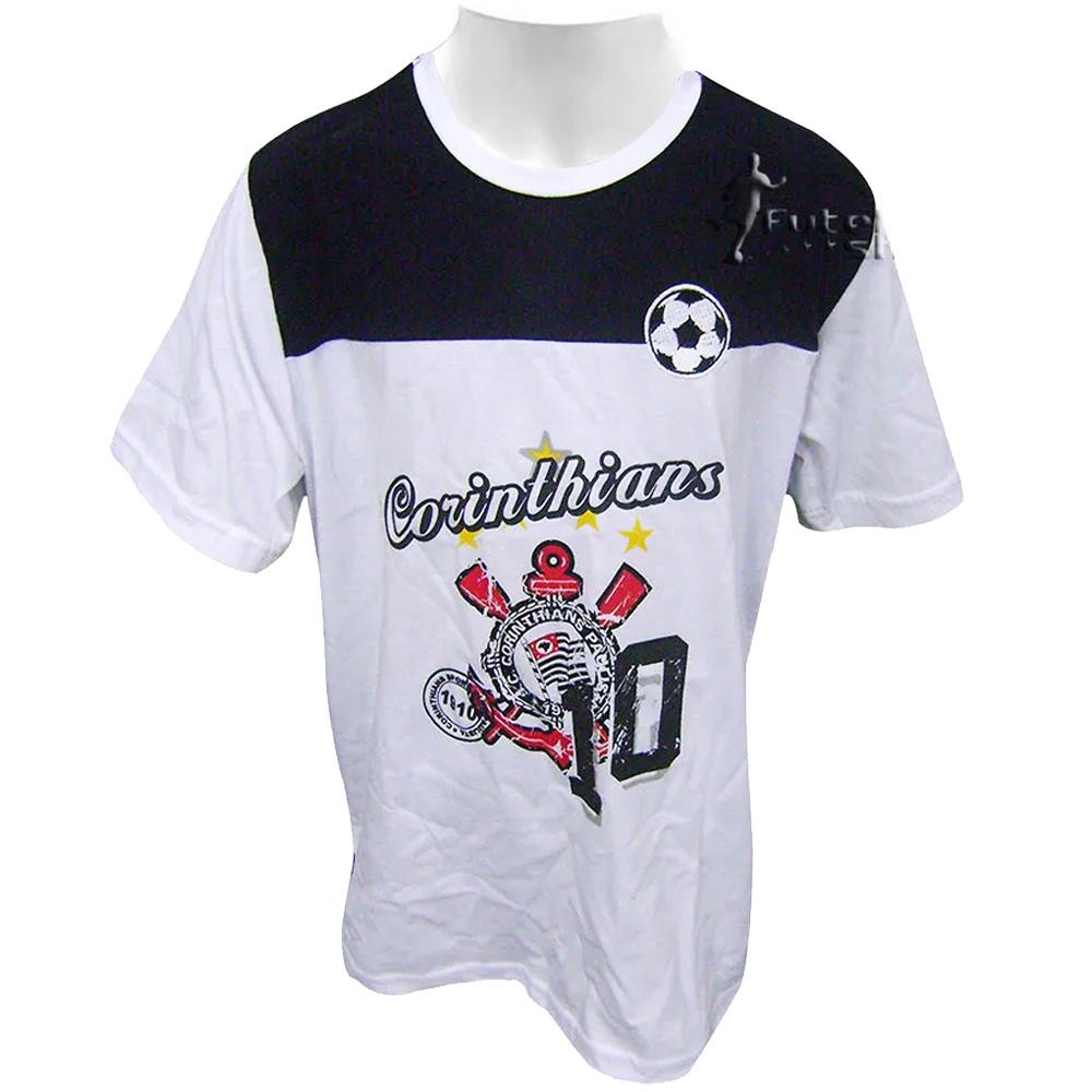 Camiseta Infantil do Corinthians Braziline Set