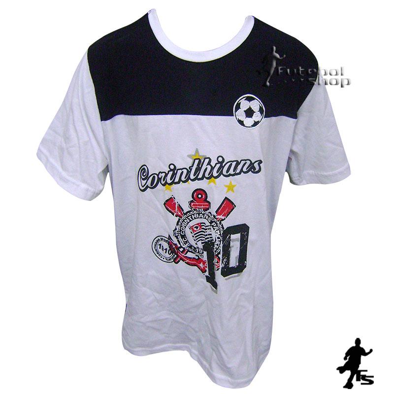 Camiseta Infantil do Corinthians modelo Set