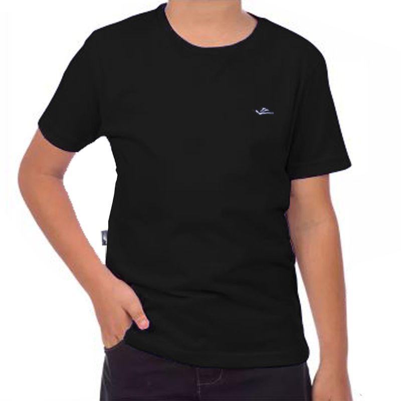 Camiseta Infantil Dryline Elite Summersun Preta 025392