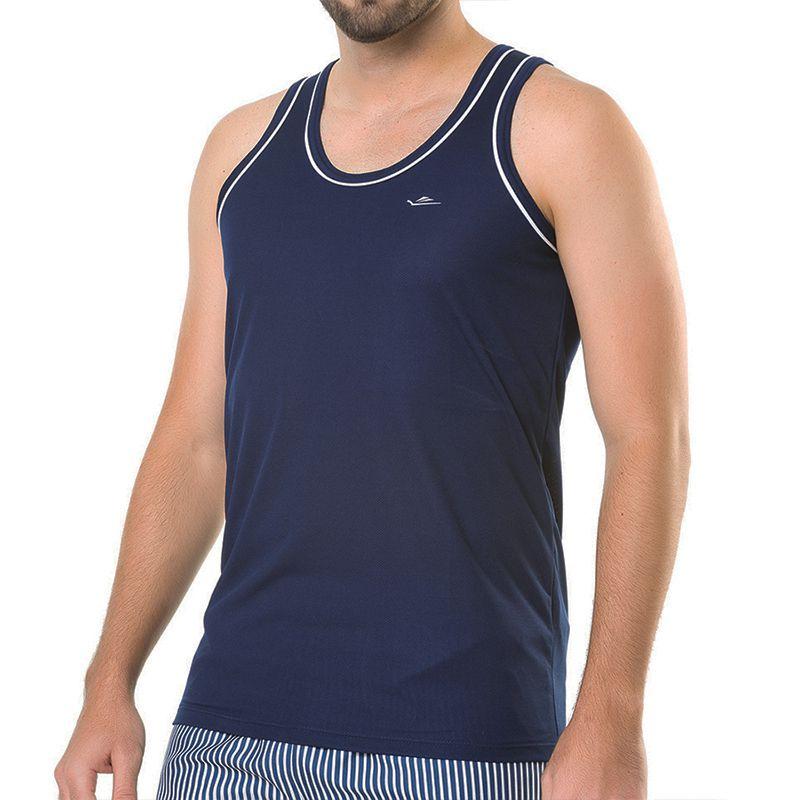 Camiseta Regata Elite Quality Marinho 025441