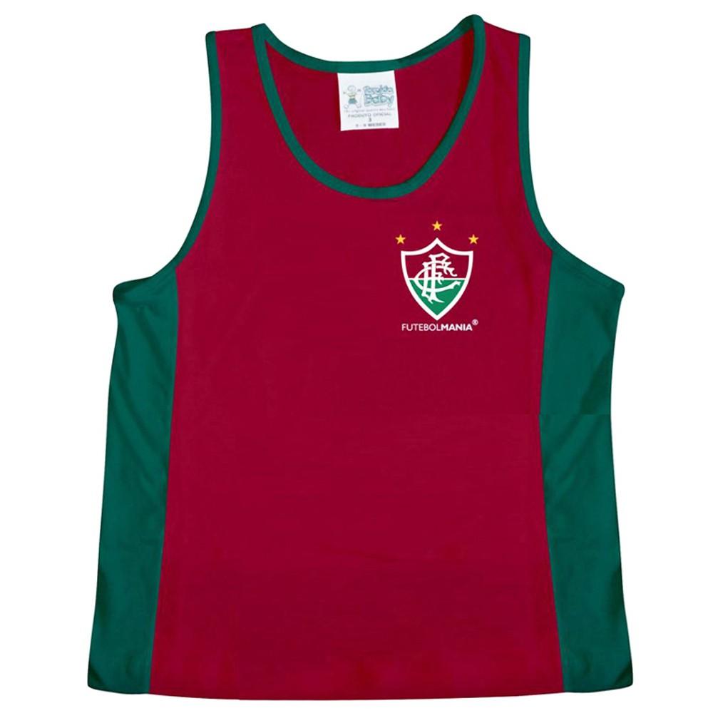 Camiseta Regata Infantil de Malha do Fluminense - 210