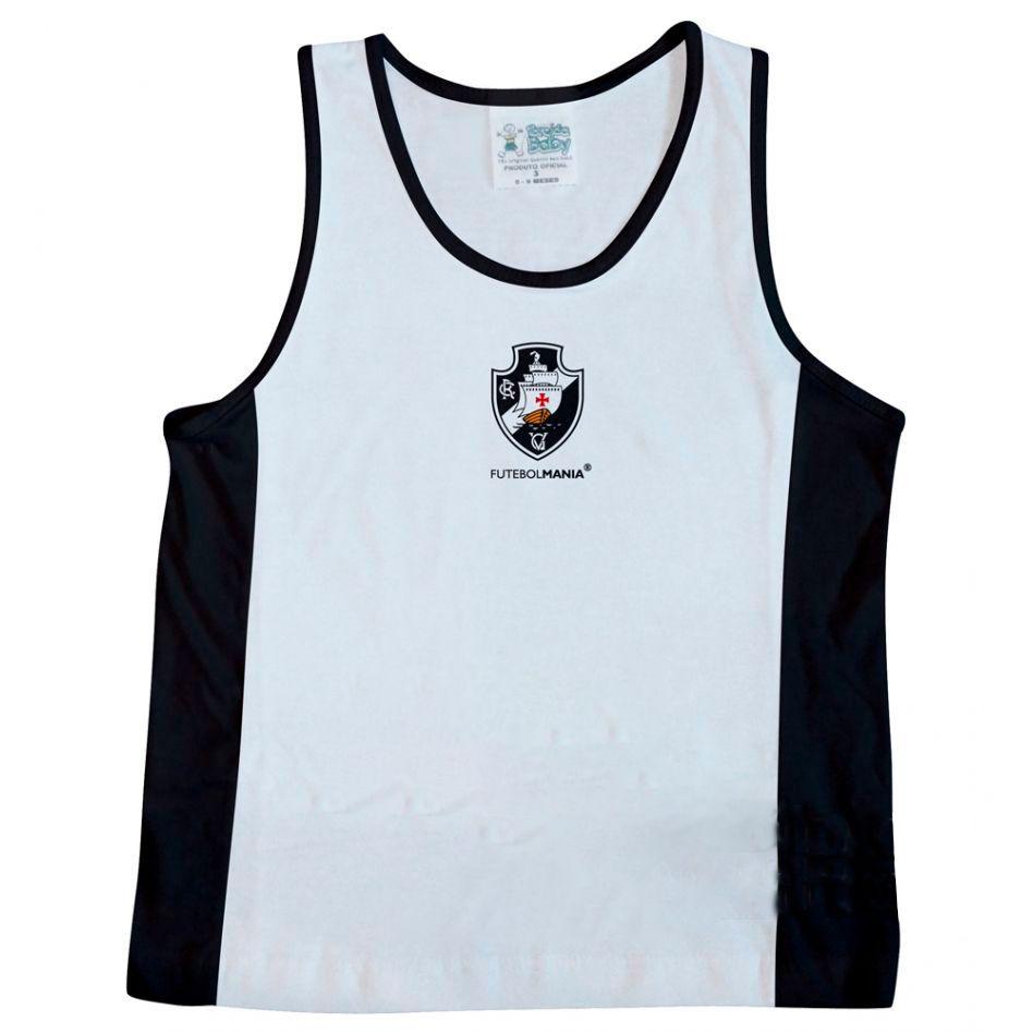 Camiseta Regata Infantil de Malha do Vasco da Gama - 210
