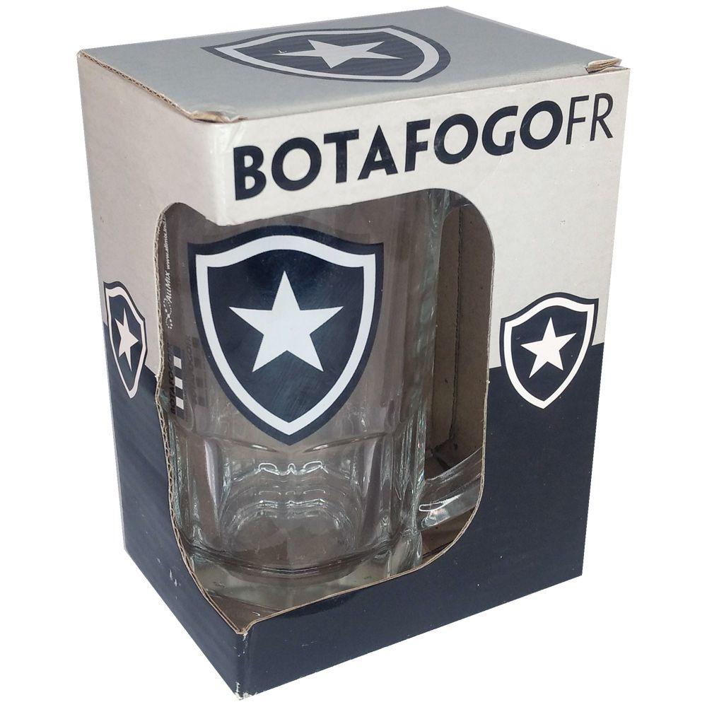 Caneca de Vidro do Botafogo 340 ml