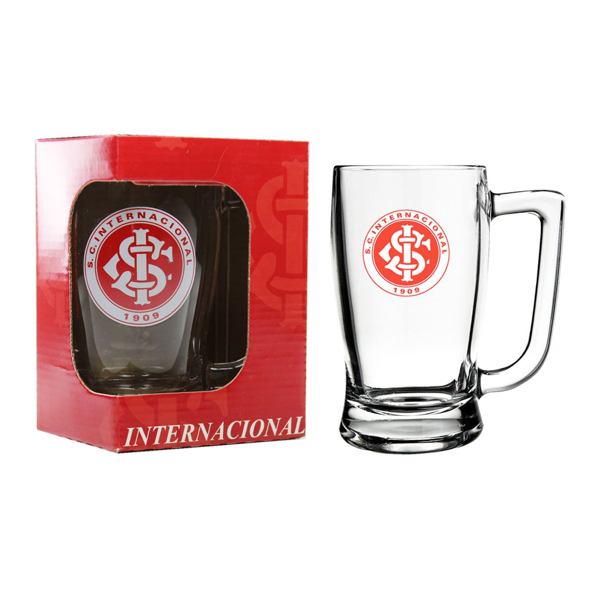 Caneca de Vidro do Internacional 340 ml