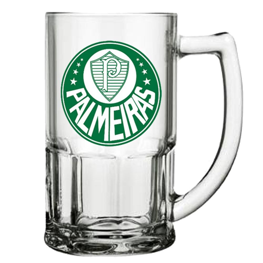 Caneca de Vidro do Palmeiras 340 ml