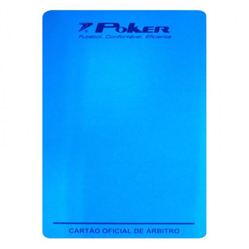 Cartão Poker Oficial para Arbitro Futsal - 08058