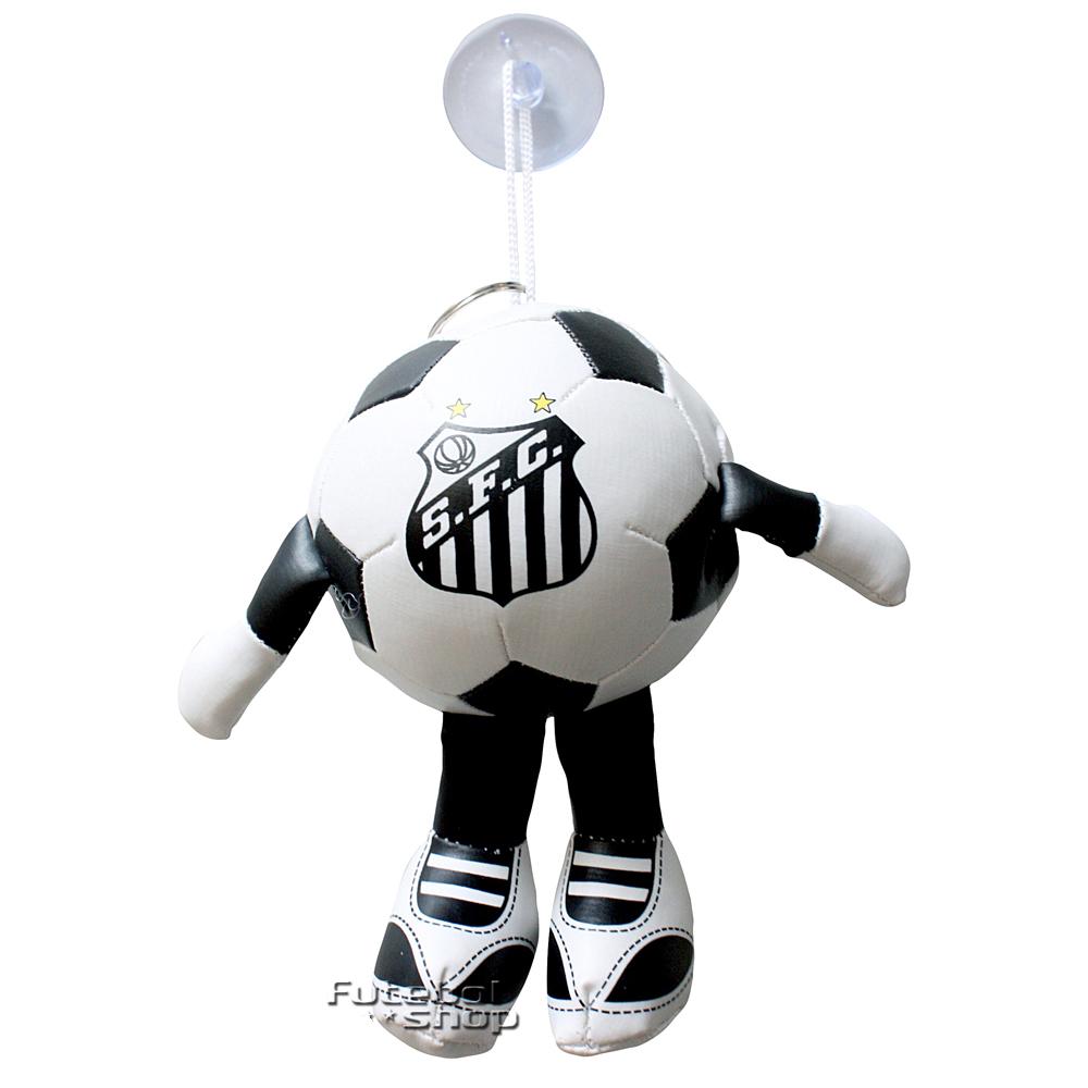 Chaveiro Bola com Plug Ventosa do Santos - 680801