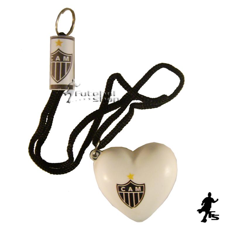 Chaveiro de Coração do Atlético Mineiro