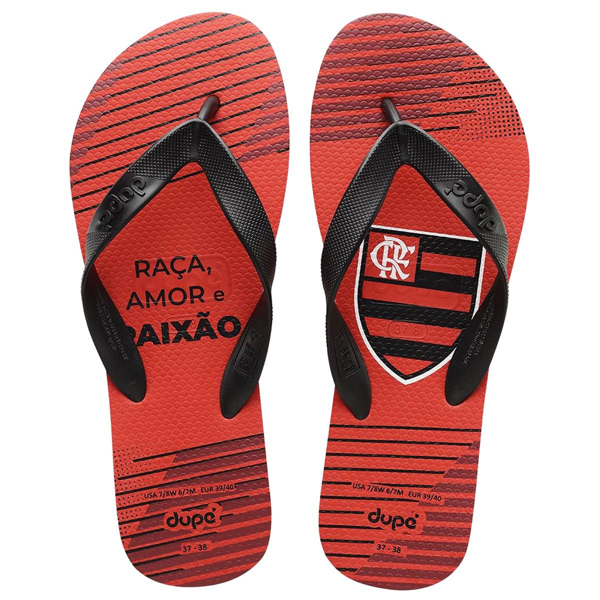 Chinelo do Flamengo Dupé Alpargatas
