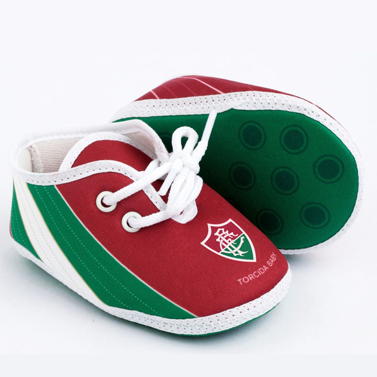 Chuteira para Bebê do Fluminense - 003B