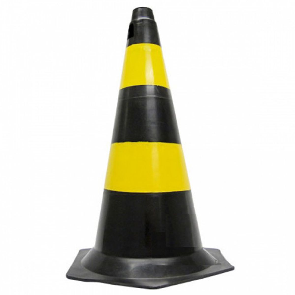Cone Plástico 50 Cm Base Hexagonal