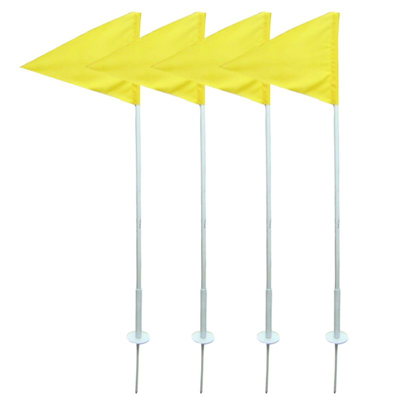 Conjunto C/4 Hastes com Molas p/ Suporte de Bandeira de Escanteio