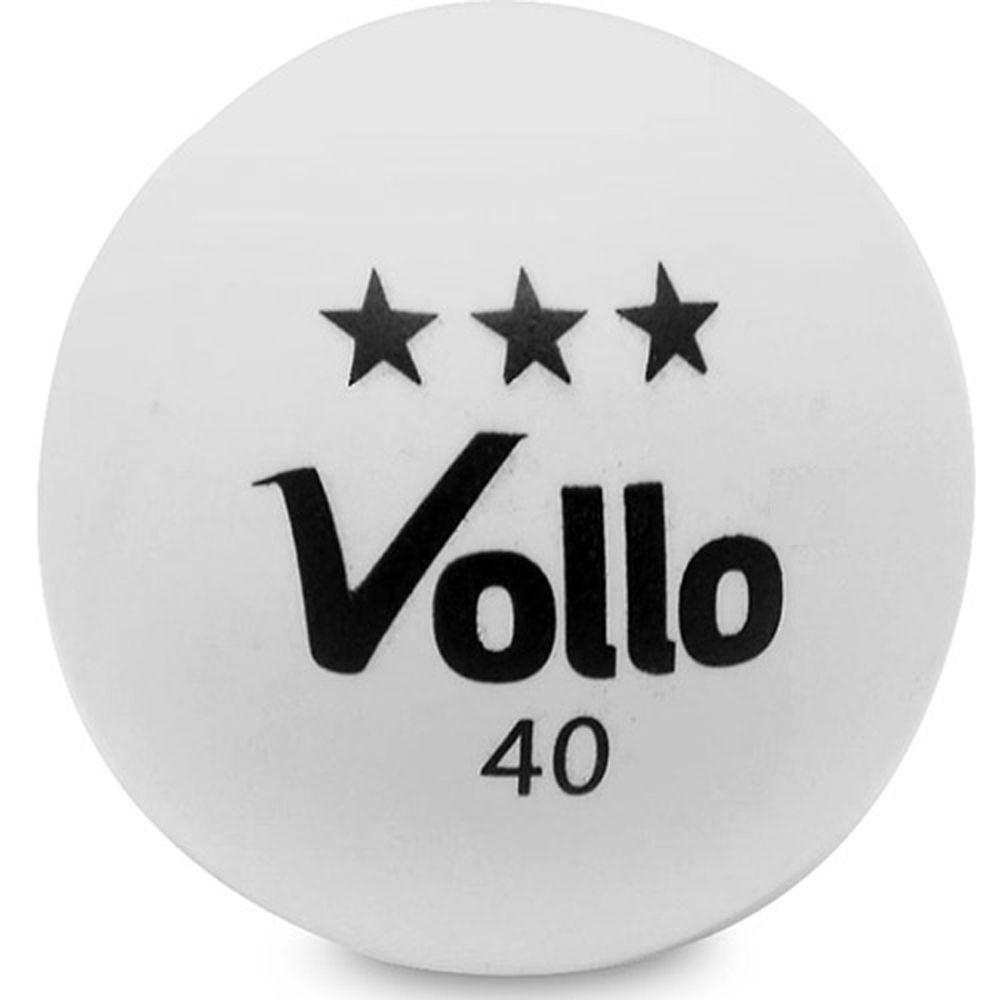 Conjunto c/6 Bolas de Tênis de Mesa 3 Estrelas - Vollo