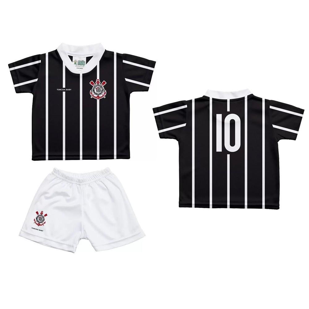 Conjunto Infantil Corinthians Sublimado - 253S