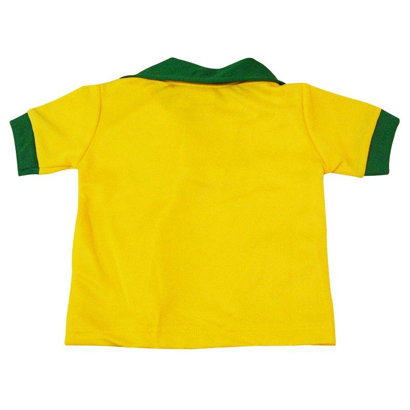 Conjunto Uniforme Bebê do Brasil Polo CBF - 046