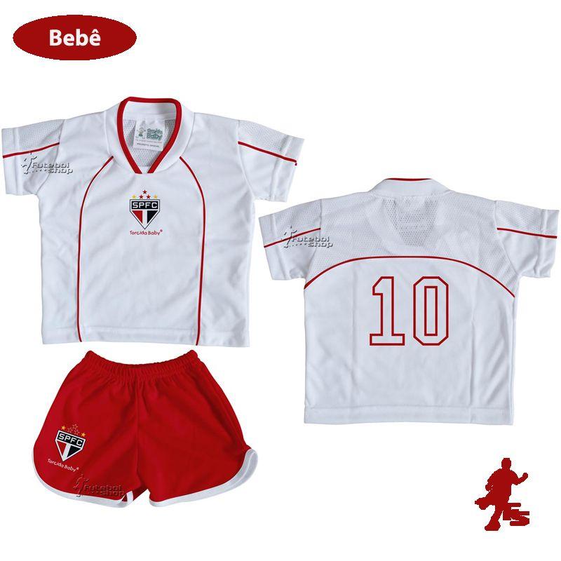Conjunto Uniforme Bebê São Paulo - Torcida Baby 031E